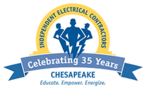 IEC Cheseapeake 35 Years Logo